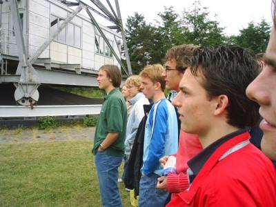 NNO 2005, excursie Dwingeloo