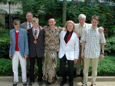 NNO 2008, deelnemers_internationale
